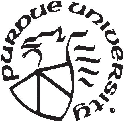 Black version of university seal