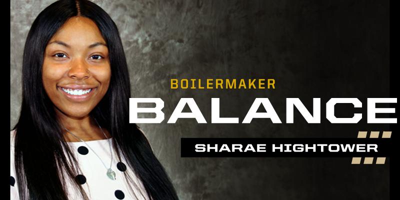 Sharae Hightower - Boilermaker Balance