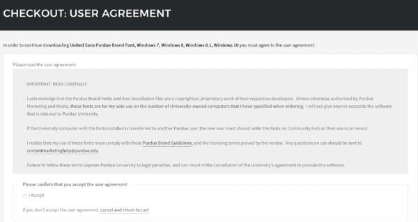 Hub License Agreement